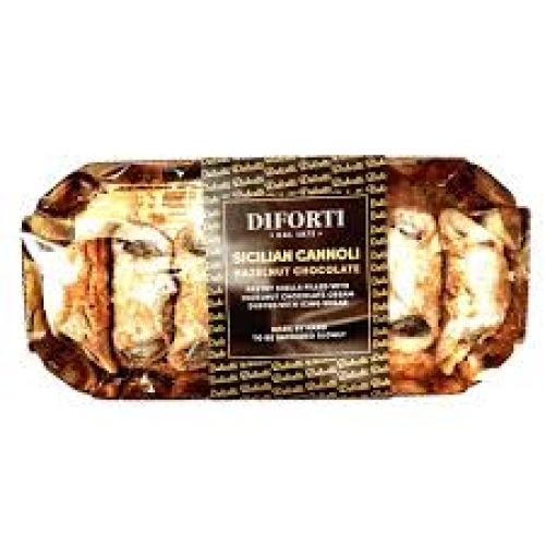 Diforti Pastries-Sicilian Cannoli Hazelnut Chocolate