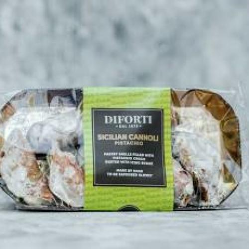 Diforti Pastries - Sicilian Cannoli Pistachio