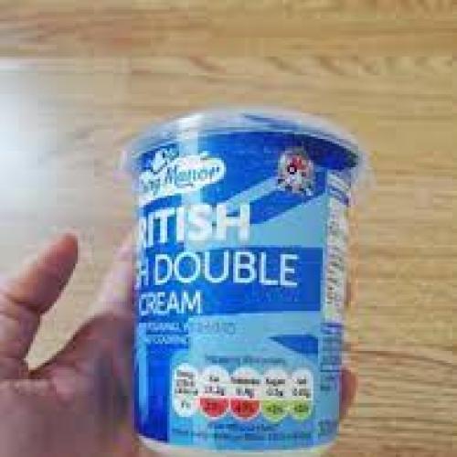 fresh double cream