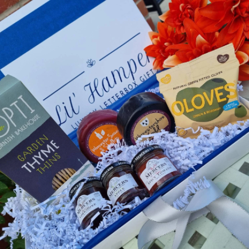 Cheese and Biscuit Hamper Gift