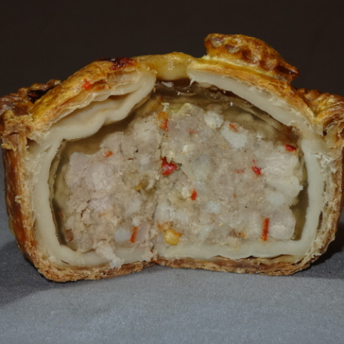 Pork Pie with Hot Chilli