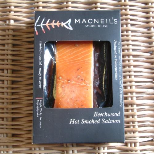 Hot Kiln Roasted Smoked Salmon - 100-120g