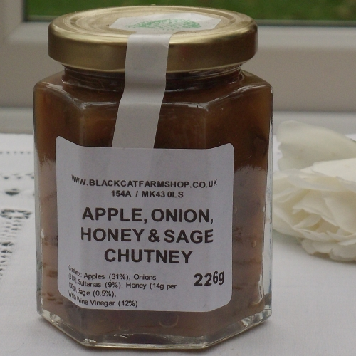 Apple, Onion, Honey and Sage Chutney