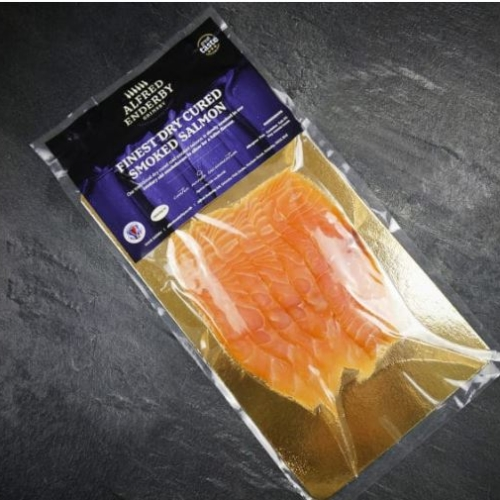 Alfred Enderby Sliced Smoked Salmon (100g)