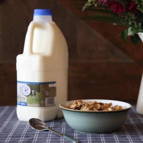 Pasteurised Whole Milk (non-homogenised)