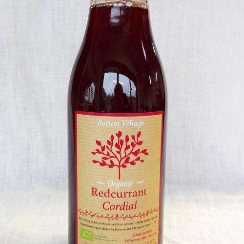 Redcurrant Cordial, Organic