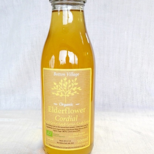 Elderflower Cordial, Organic