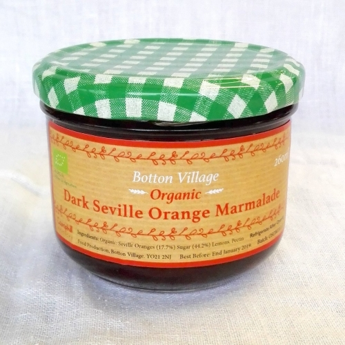Dark Seville Orange Marmalade, Organic