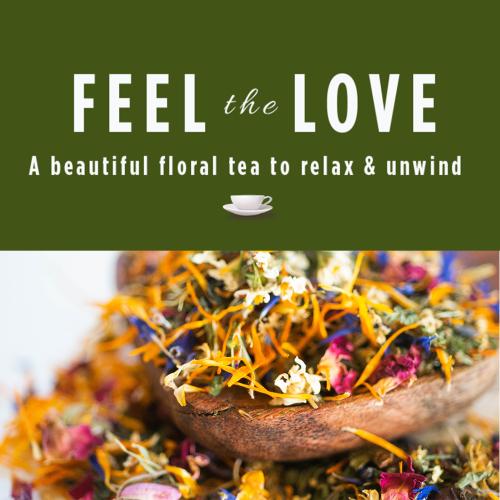 Feel the Love Herbal Tea Blend-Reusable Jar