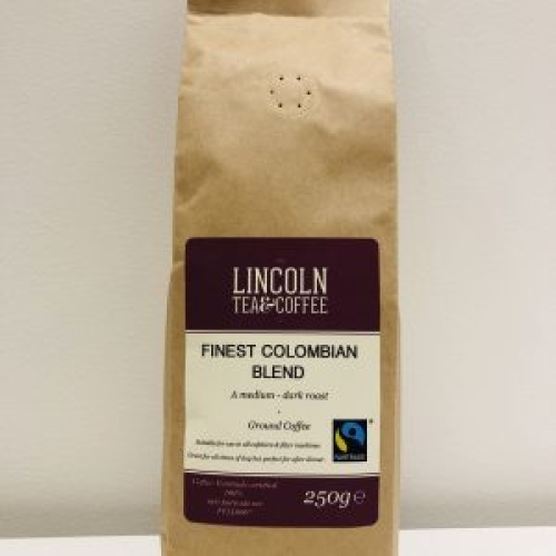 Finest Colombian Fairtrade Blend 250g Ground Coffee