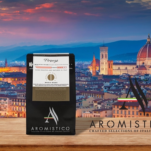 Premium Artisan Hand Roasted Coffee Beans Firenze Decaf Medium/dark Roast Blend