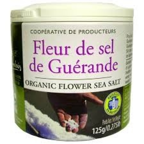 Organic Unrefined  Flower Le Guérande Fleur de Sel Celtic Sea