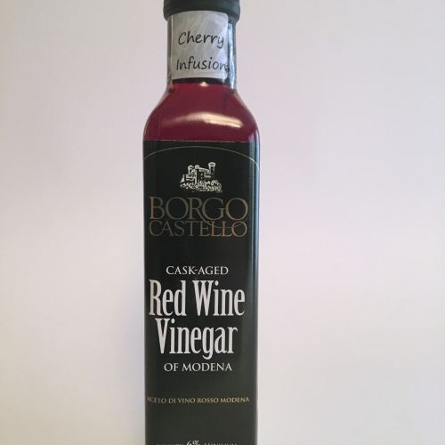 Red Wine Vinegar of Modena infused with Cherry