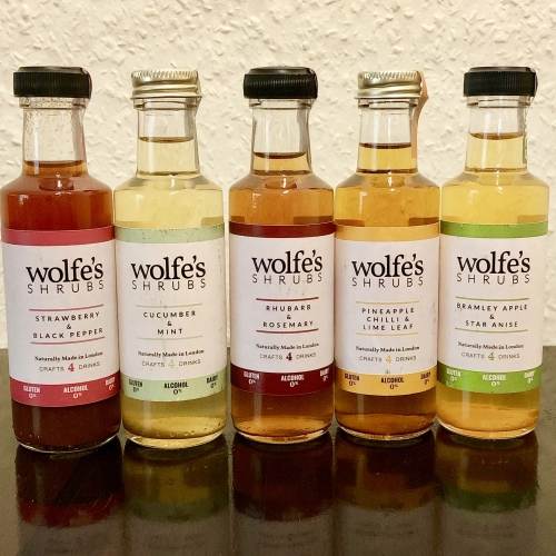 Wolfes Shrubs Any 3 x 100ml Miniatures