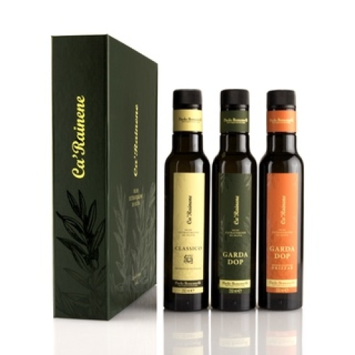 Extra Virgin Olive Oil Gift Set 3 x 100ml