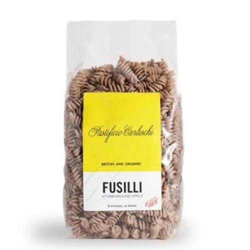Organic Spelt Fusilli Pasta PASTIFICIO CARLESCHI