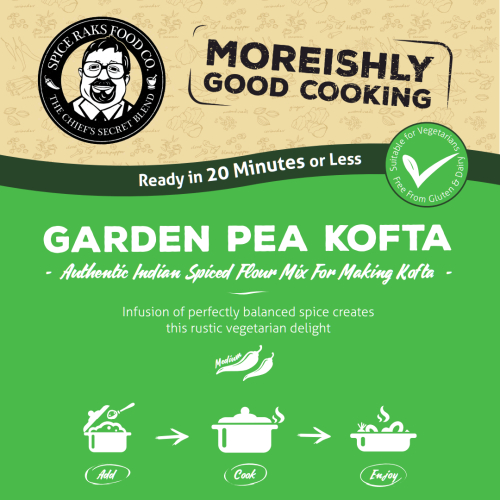 Sampler Pack - Chief's Garden Pea Kofta Mix - Versatile Vegetarian Delight!