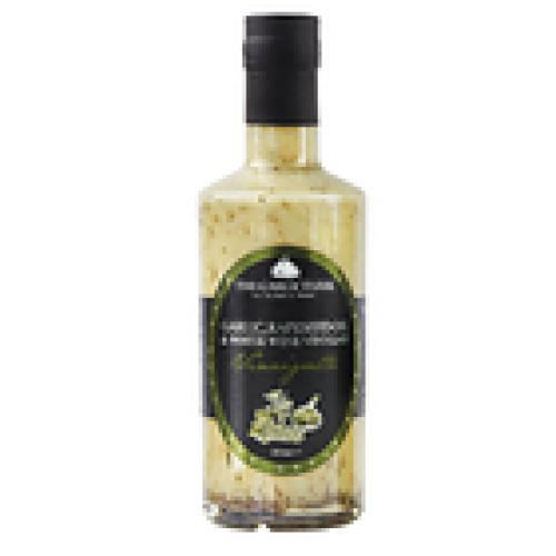 Garlic Farm Garlic, Rapeseed Oil and White Wine Vinaigrette