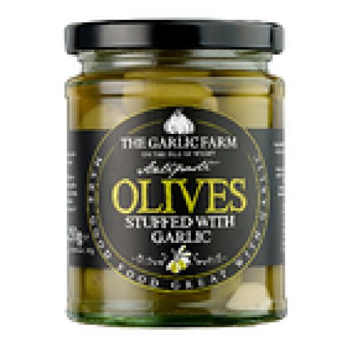 Garlic Farm Green Olives Stuffed with Garlic