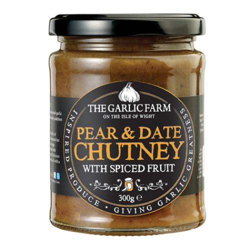 Garlic Farm Pear and Date Chutney