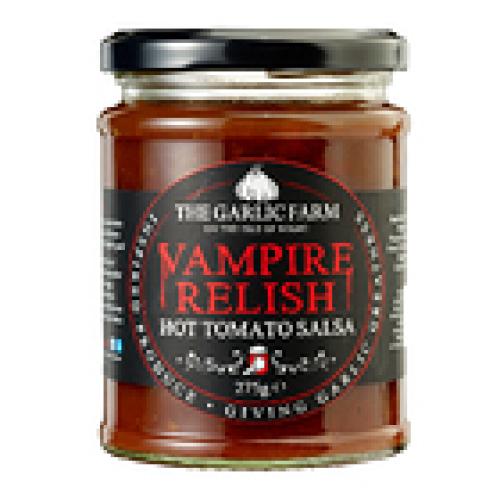Garlic Farm Vampire Relish - Hot Tomato Salsa