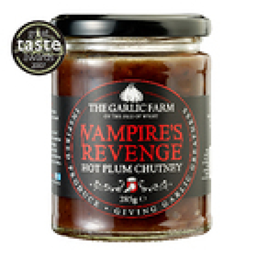 Garlic Farm Vampire's Revenge - Hot Plum Chutney