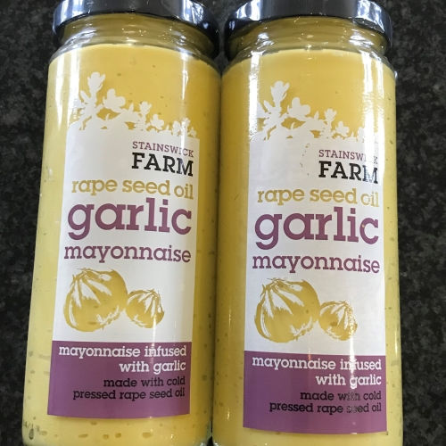 garlic mayonnaise - 2 pack