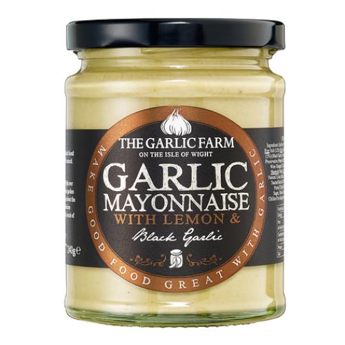 Garlic Farm Black Garlic Mayonnaise with Lemon