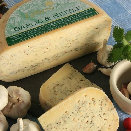 Lyburn Garlic & Nettle Cheese (Quarter Wheel)