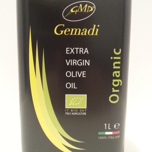 Gemadi - Single Estate Mild Organic Extra Virgin Olive Oil - 1L