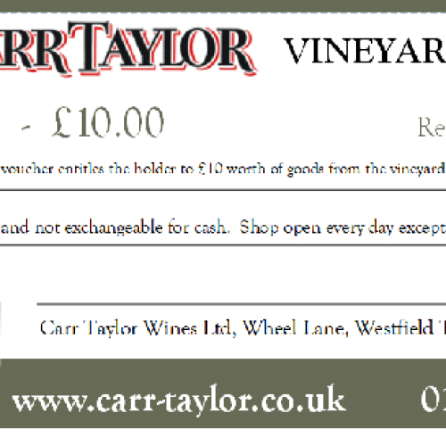 Carr Taylor Wines Gift Voucher