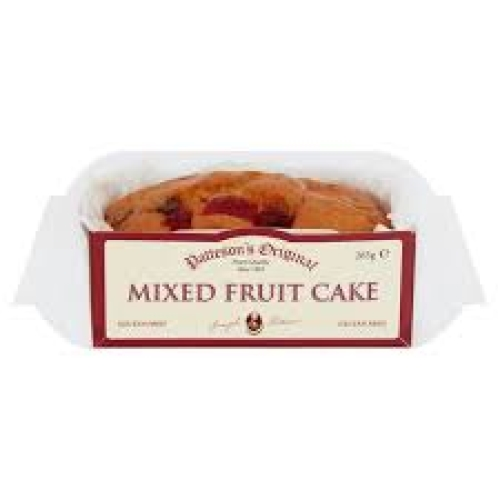 Patteson's GF mixed fruit cake