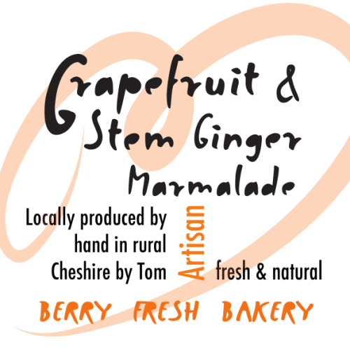 Grapefruit & Stem Ginger Marmalade