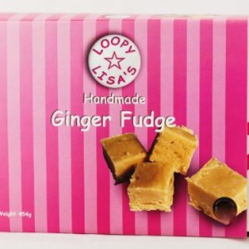 Ginger Fudge 100g