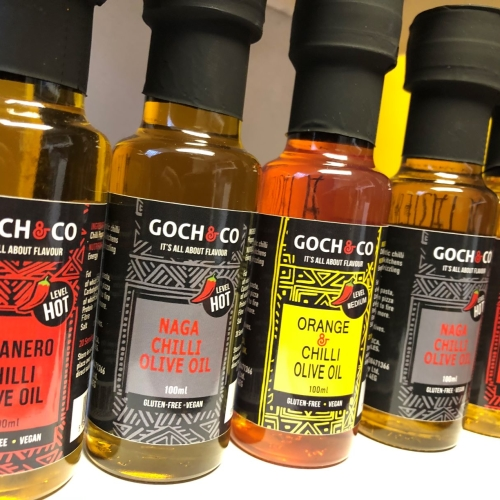 Goch Chilli Olive Oil Trio Gift Set
