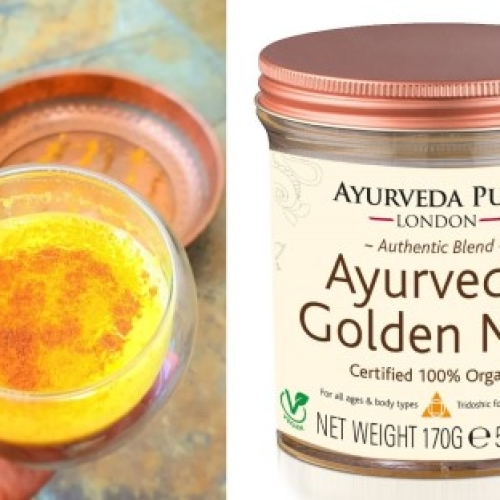 AYURVEDIC GOLDEN MILK