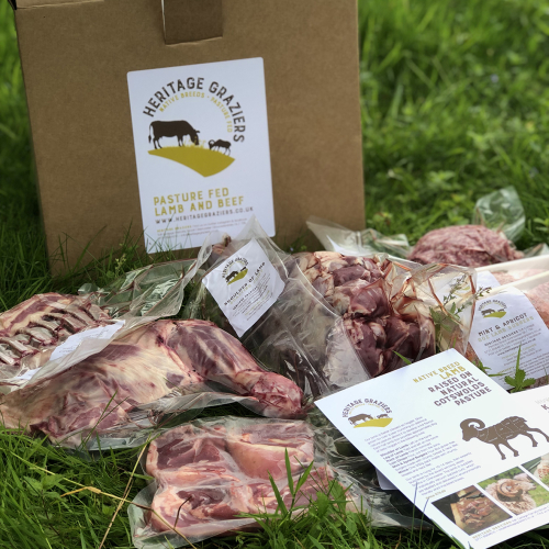 Grass fed, native breed mutton box