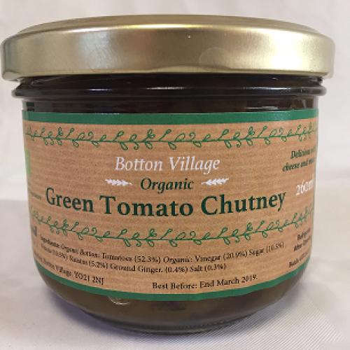 Green Tomato Chutney, Organic