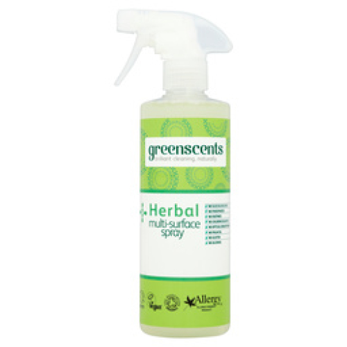 GREENSCENTS HERBAL MULTI SURFACE SPRAY