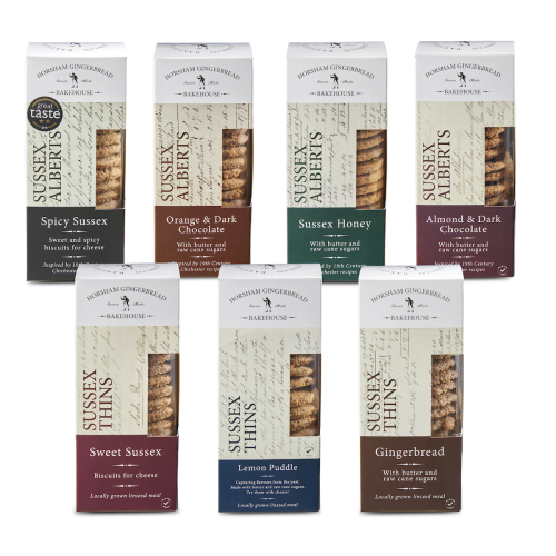 BISCUIT SELECTION – BOX OF 7 DIFFERENT PACKS (GLUTEN-FREE)