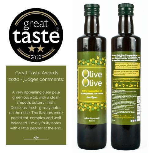 2020-2021 season Extra Virgin Olive Oil 500ml