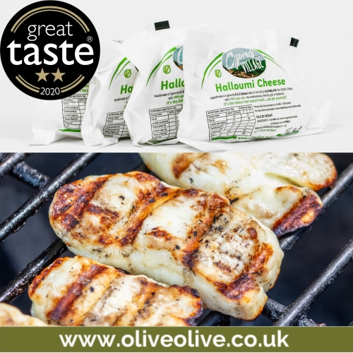 Cyprus Village Halloumi Cheese 1kg pack
