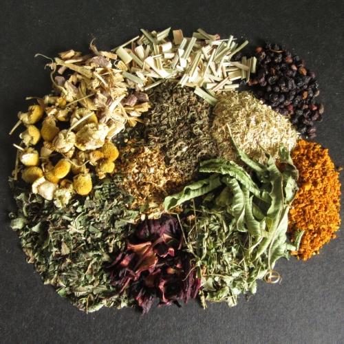 Loose Leaf Organic Herbal teas /b