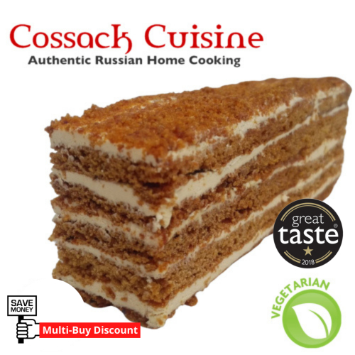 🍯 Russian Honey Cake slice (v) (multi-buy)