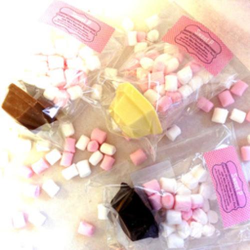 HOT CHOCOLATE STIRRER PACK- WHITE CHOCOLATE