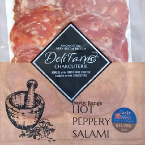 HOT PEPPERY SALAMI