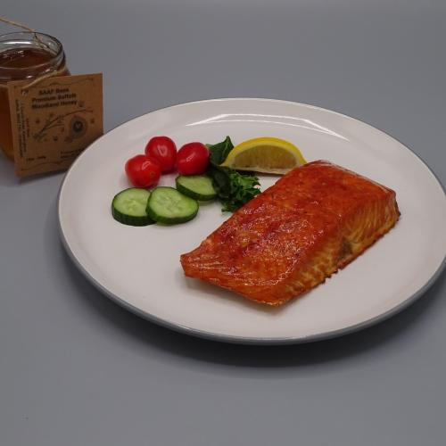 Hot Smoked Salmon Fillet (Honey)