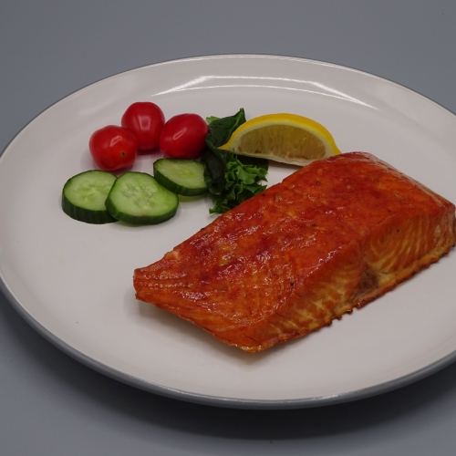 Hot Smoked Salmon Fillet Portion 4 X (180 - 220 g)