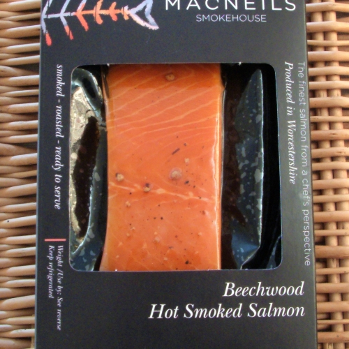 Hot Kiln Roasted Smoked Salmon - 180g - 200g