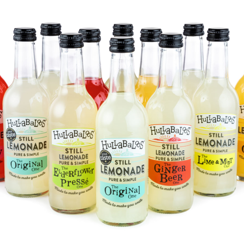 Hullabaloos Lemonade mixed case of 12 x 330ml bottles